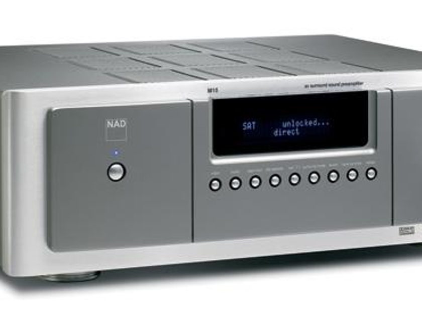 NAD Master Series M15 Home Theater Preamp/Processor with 2-Year Manufacturer's Warranty & Free Shipping