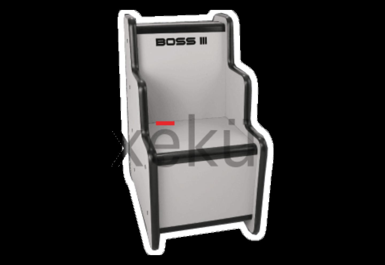xeku boss 3 3-zone scanner chair