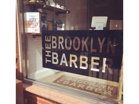 Haircut at Thee Brooklyn Barber