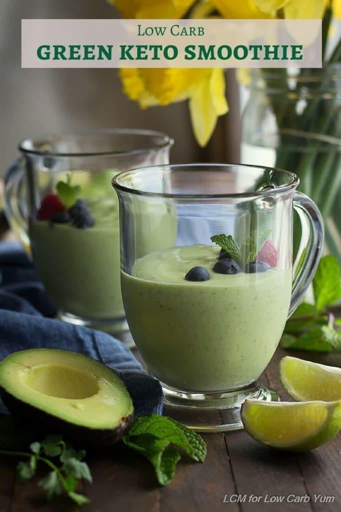Green keto smoothies