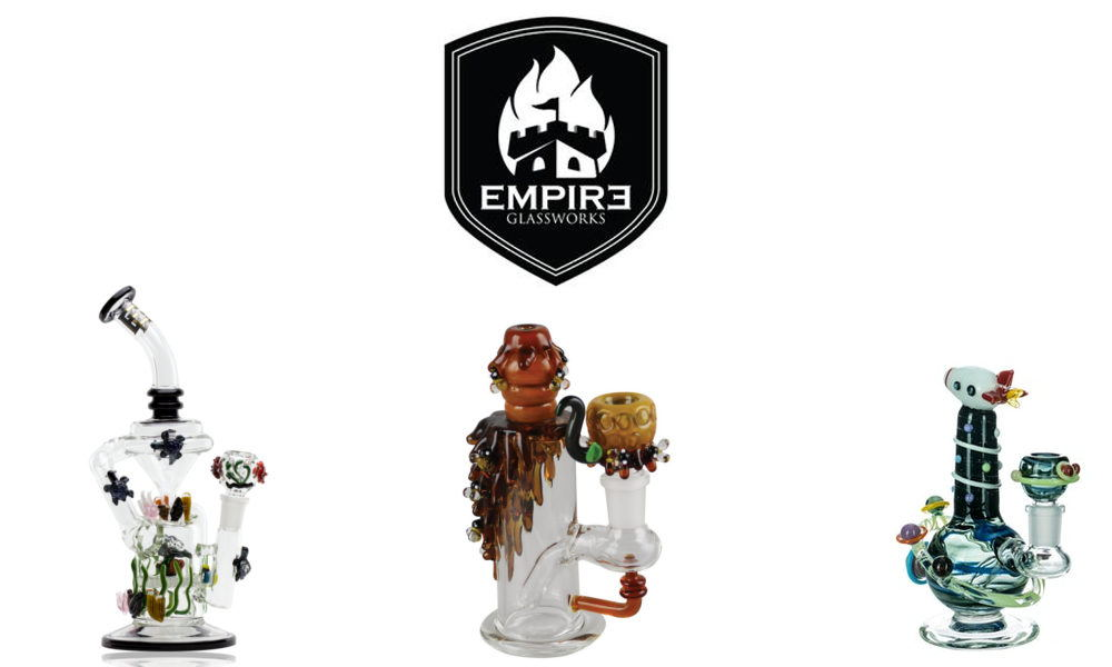 Empire Glassworks Bongs and Rigs