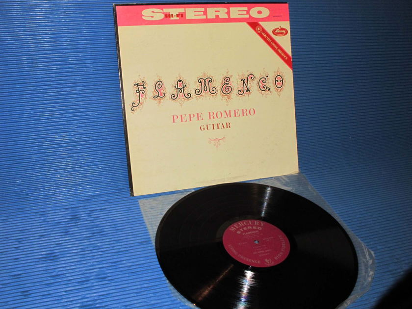 "PEPE ROMERO -  - ""Flamenco!"" -  Mercury Living Presence 1961 1st pressing"