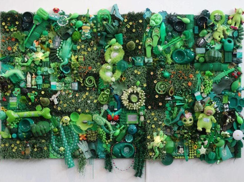 Green Peace Artist: Linda Pace (American, 1945-2007)