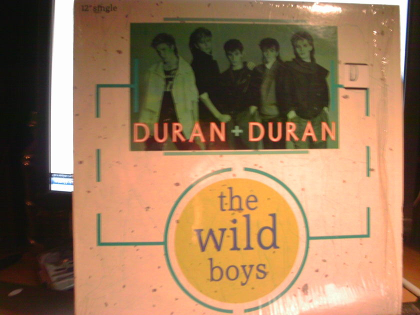 "DURAN DURAN - THE WILD BOYS 12"" SINGLE"