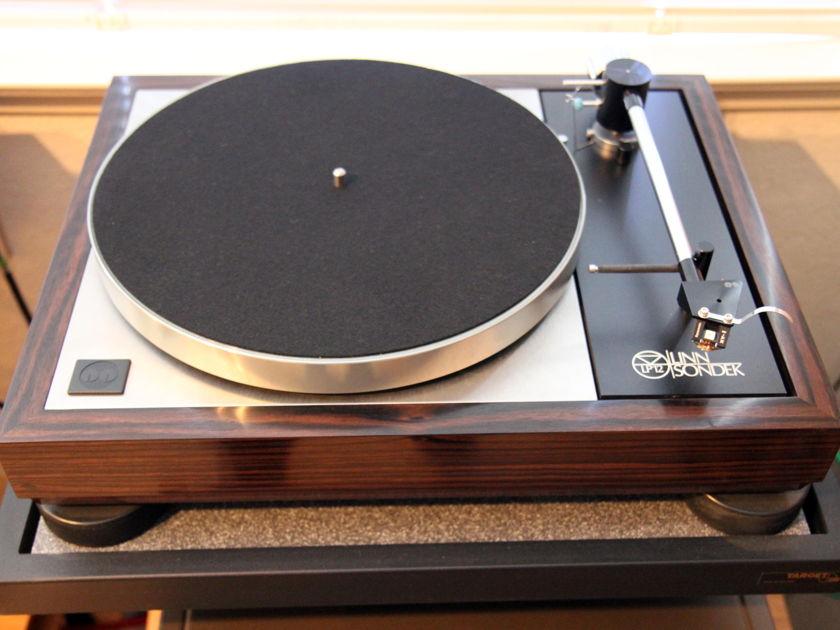 Linn Naim LP12-Woodsong Plinth - Naim Geddon awesome LP12 setup - pristine - PRICE REDUCED!