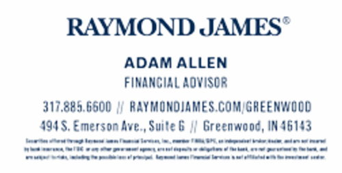 Raymond James Greenwood Indiana Rock the Block Run