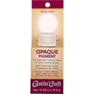 White Opaque Pigment Castin