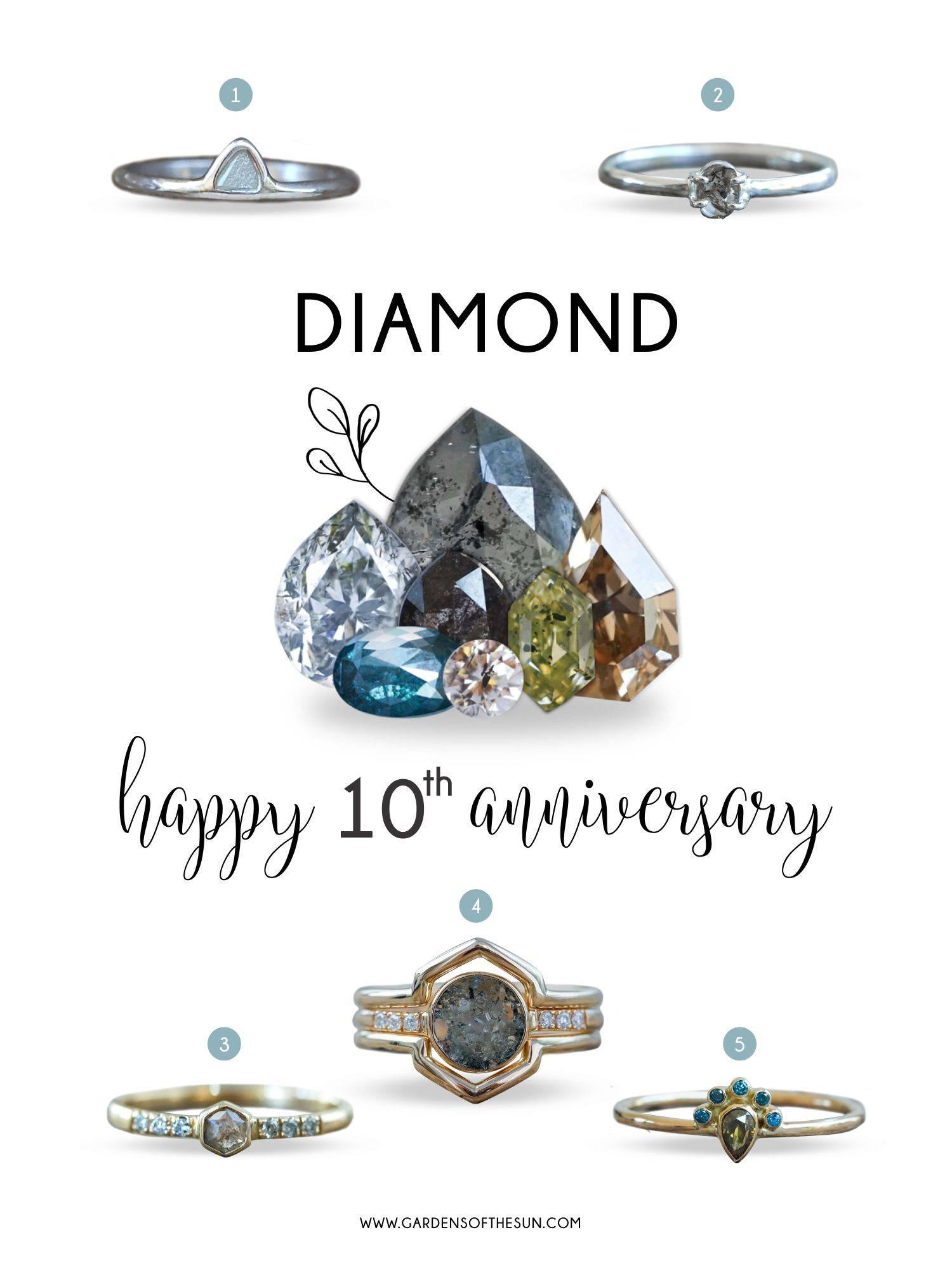 Ethical diamond rings