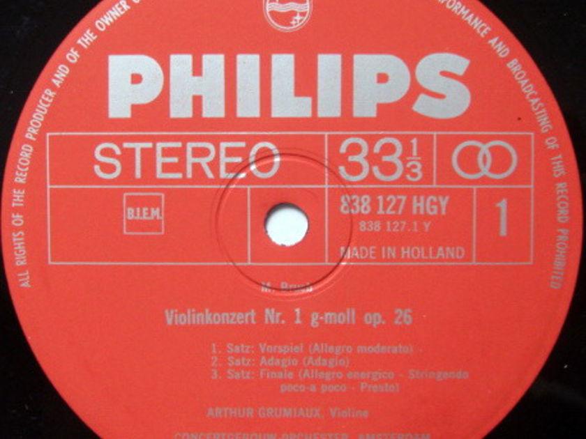 Philips / GRUMIAUX-HAITINK, - Bruch Violin Concertos No.1, NM!