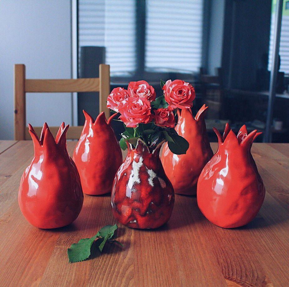 Красный керамический гранат GUNGA