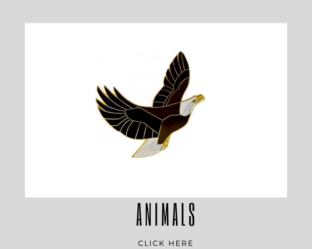 custom animals lapel pins for corporate