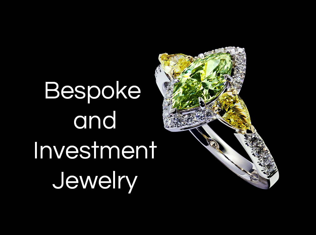 Yves lemay bespoke and investment jewelry banner