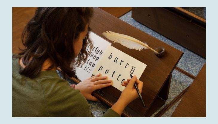 stiftung deutsches historisches museum kalligraphi