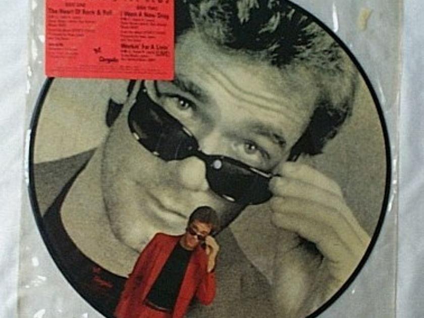 Huey Lewis LP-'84 Sports Tour-rare - picture disc-mint vinyl