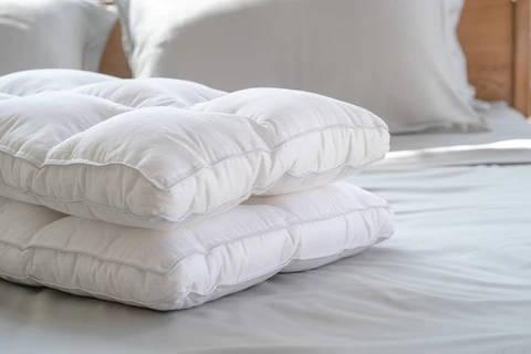 Featuring Weavve's Even Loft Pillow