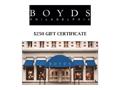 Boyd's Gift Certificate (B)
