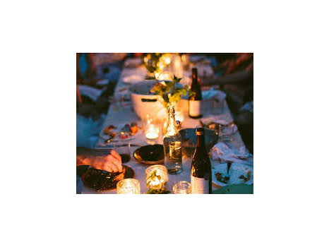 Dinner at Your Home Prepared by Chef Jason Harrison of Red Maple Catering, with wine