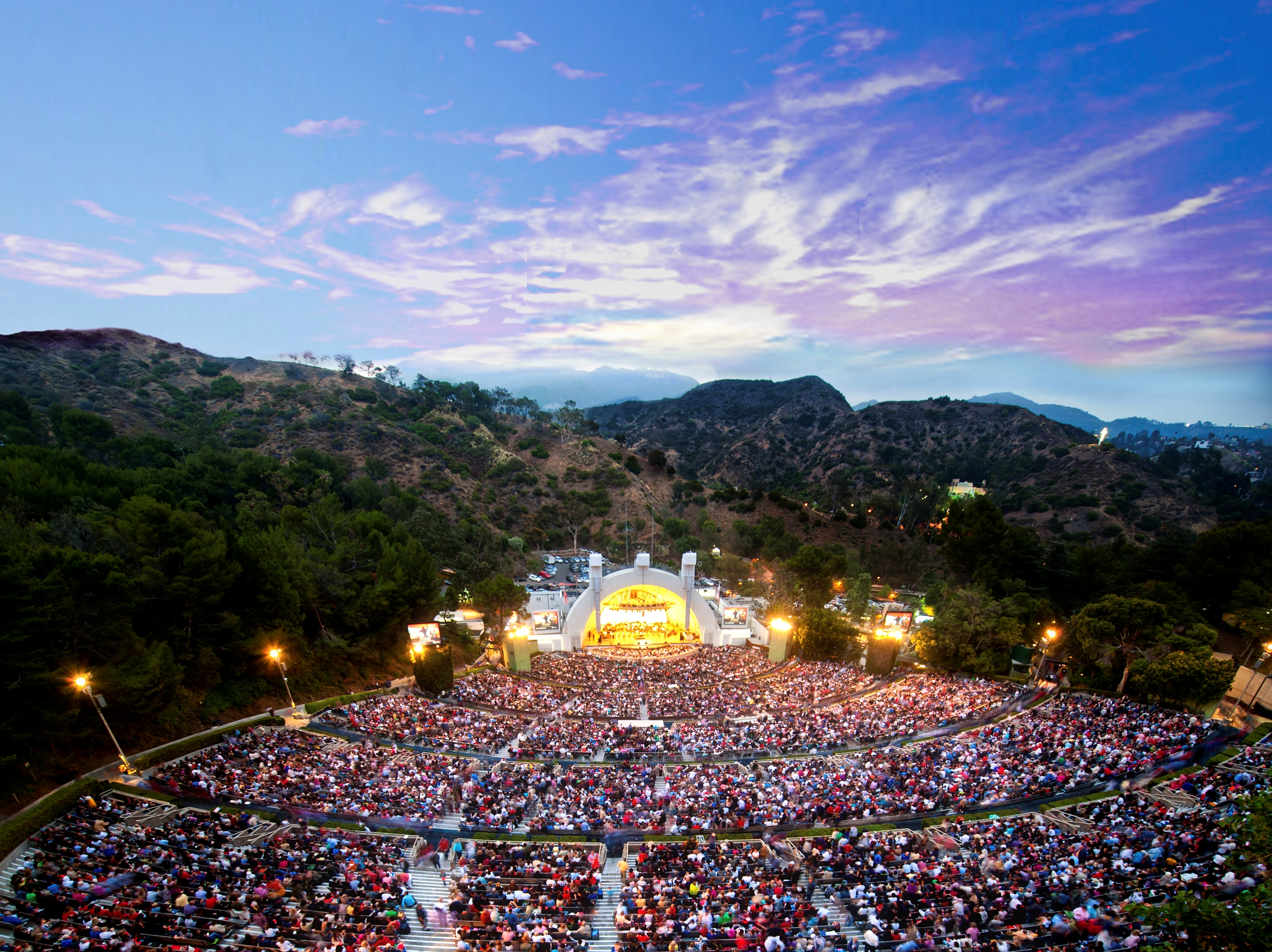Hollywood Bowl Concerts >> Hollywood Bowl Parking Shuttle Transportation Info Hollywood Bowl