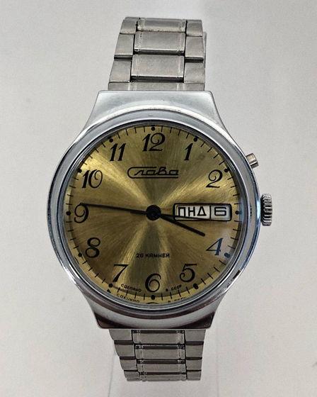 Часы Слава - СССР, механические, хром