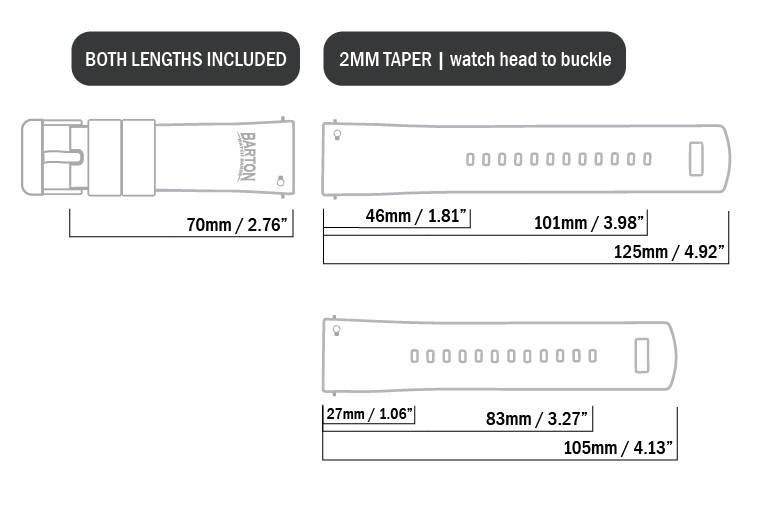 fitting a watch band strap barton