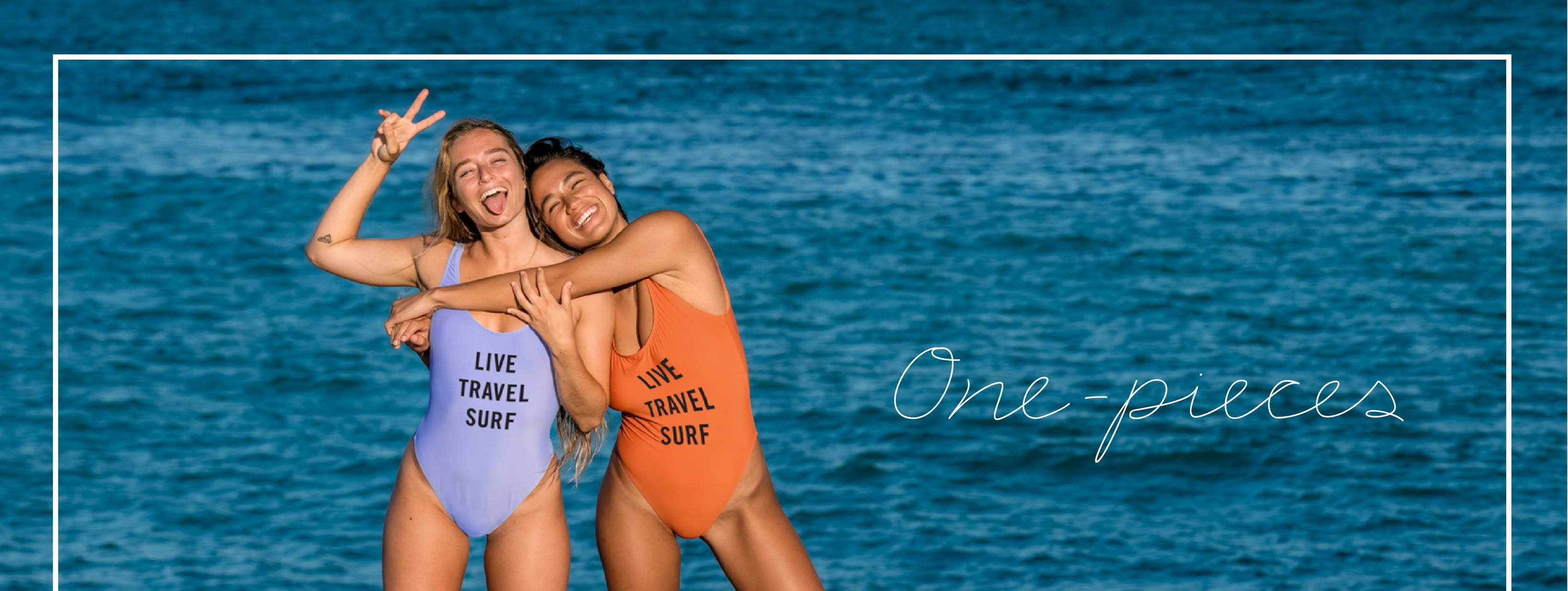 Shop our ONE-PIECES collection!