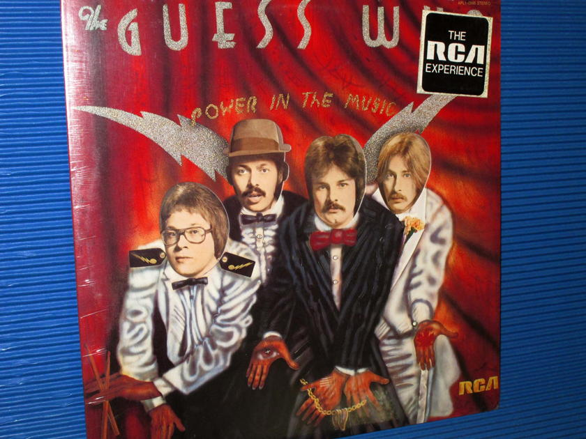 """THE GUESS WHO -  - """"Power In The Music"""" -  RCA 1975 no Bar Code Sealed"""