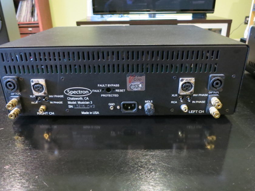 Spectron Musician III mk2 V-Cap & Bybee Upgrades