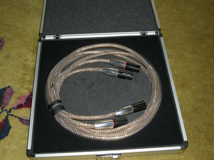 Silversmith Audio Palladium Interconnect--XLR 6ft