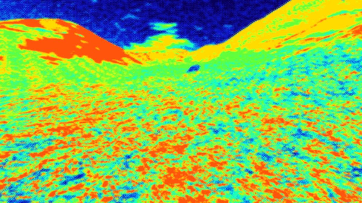 Fractal sound landscape - arte interattiva di Walter Perdan