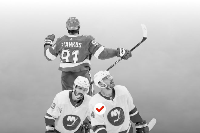 NHL Playoff Picks for Islanders-Lightning and Canadiens-Golden Knights