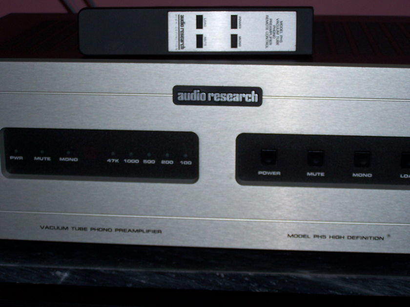 audio research ph5 phono pre amp tube