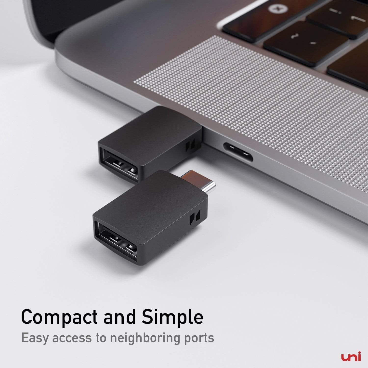 USB-C to USB 3.0 Adapter - 2 Pack, usb c to usb adapter, usb c male adapter, type-c to usb adapter, usb female to usb c male adapter