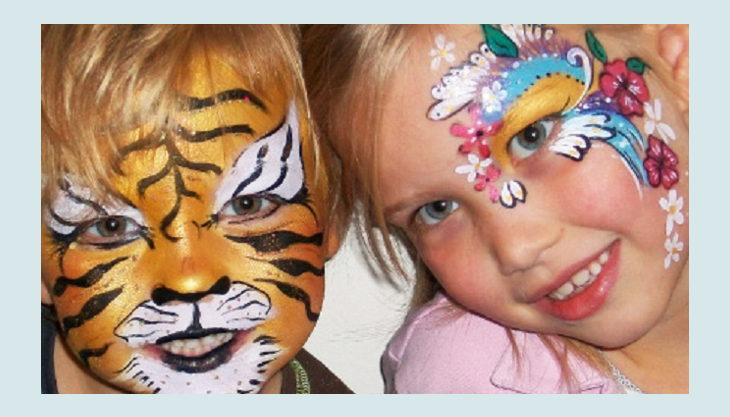 bester geburtstagde little star events tiger kind schminke