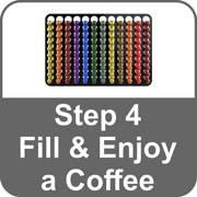 nespresso original pod holder installation step 4