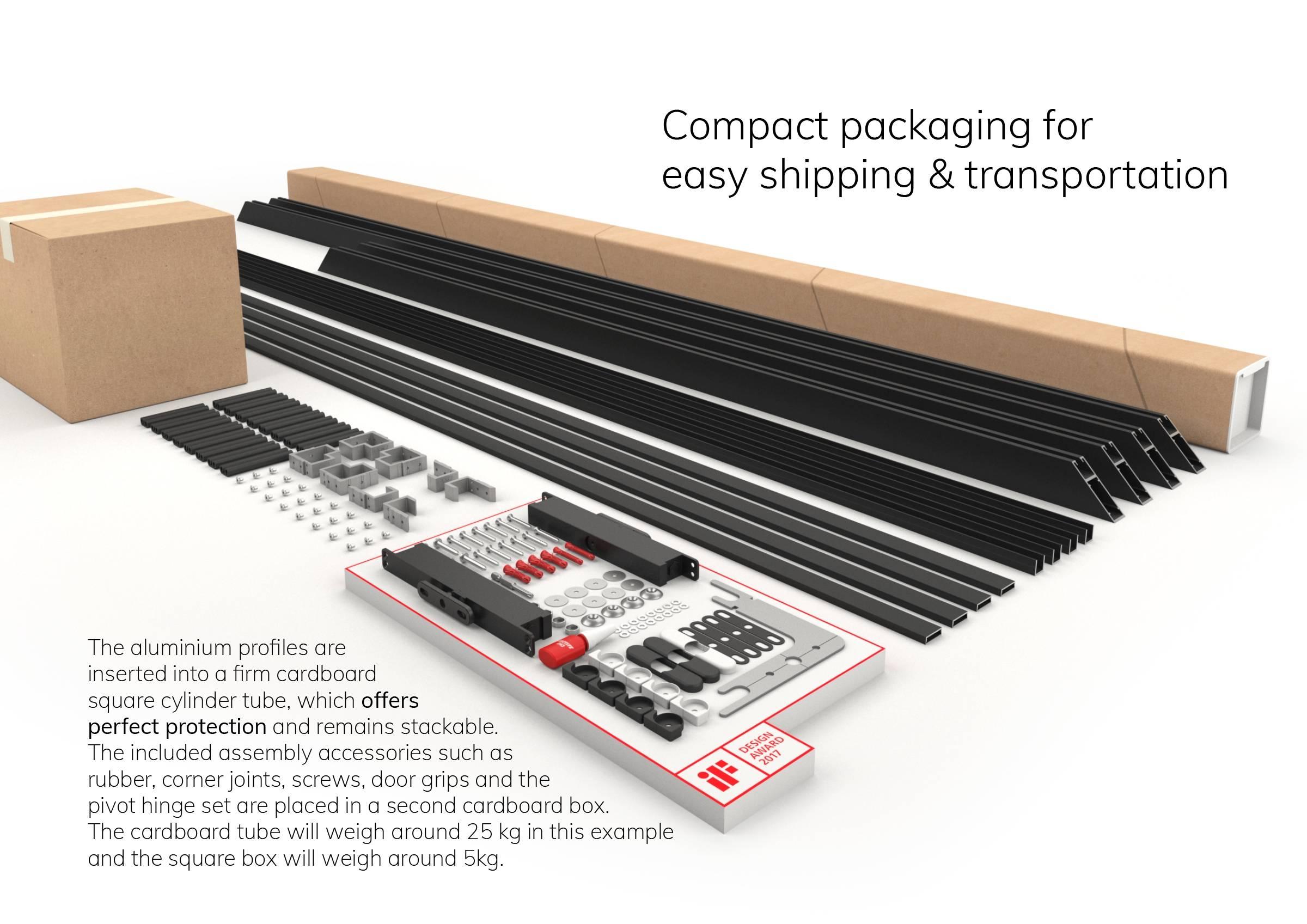 Portapivot 6530 XL self-assembly kit example