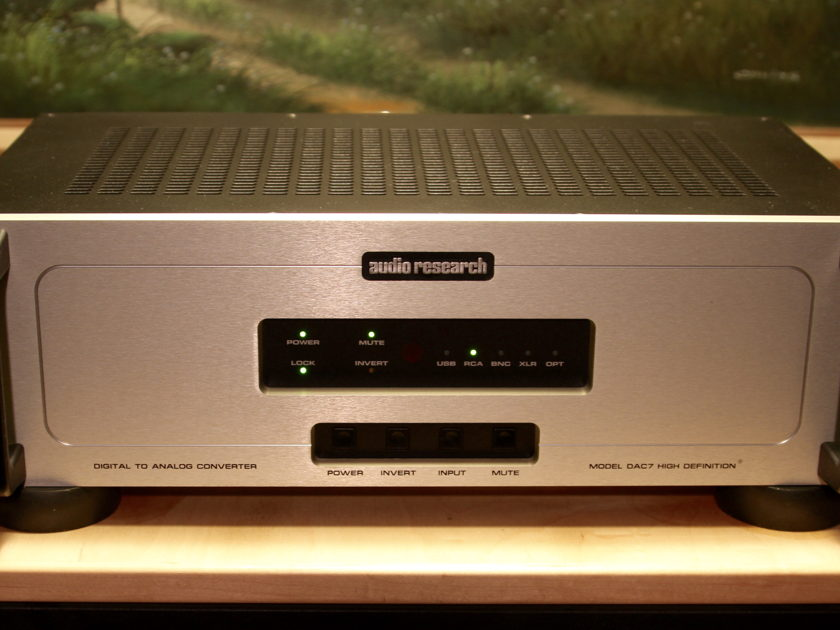Audio Research Dac7 Shipping included