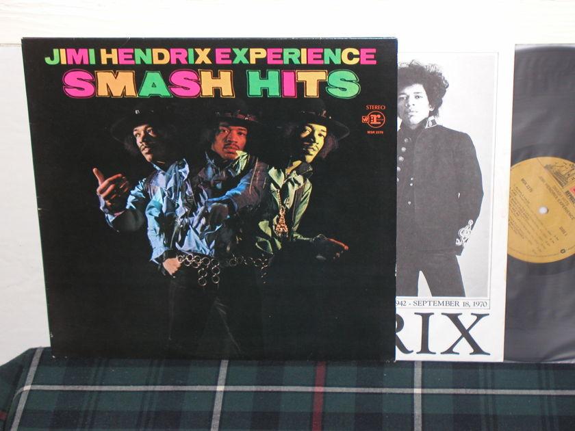 Jimi Hendrix - Smash Hits from 1979 w/1979 inner sleeve (custom)