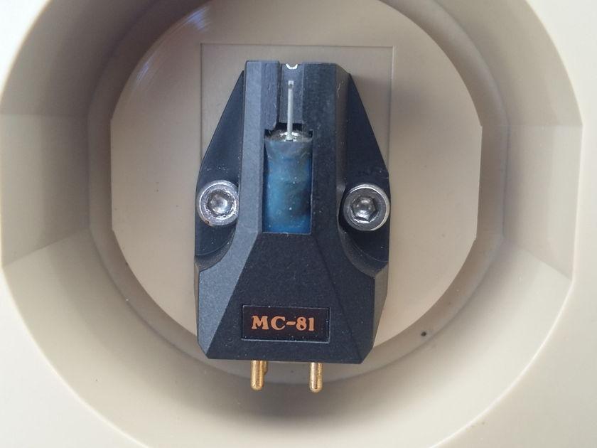 CORAL  MC 81 SHIBATA STYLUS Beryllium can MC 81 FREE SHIPPING