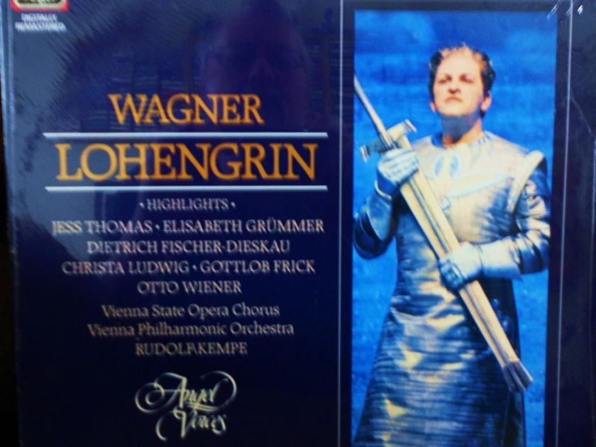 FACTORY SEALED ~ DIETRICH FISCHER DIESKAU & CHRISTA LUDWIG - WAGNER ~ LOHENGRIN ~ RUDOLF KEMPE EMI/ANGEL AV 34079 (1962)