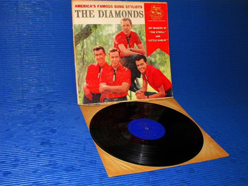 """THE DIAMONDS -  - """"Americas Famous Song Stylists"""" -  Mercury Wing 1959"""