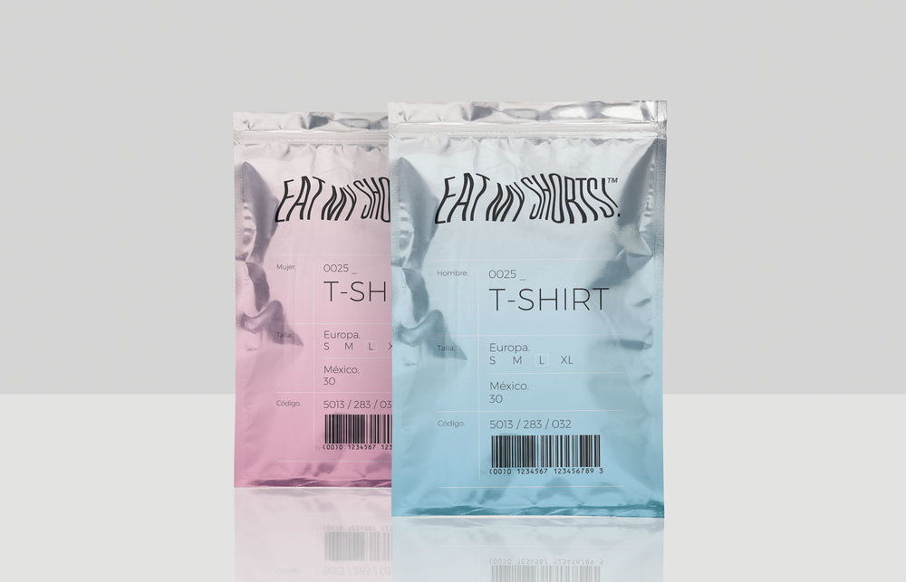 c7c0b3e1c Eat My Shorts Is A Unique Clothing Packaging Solution