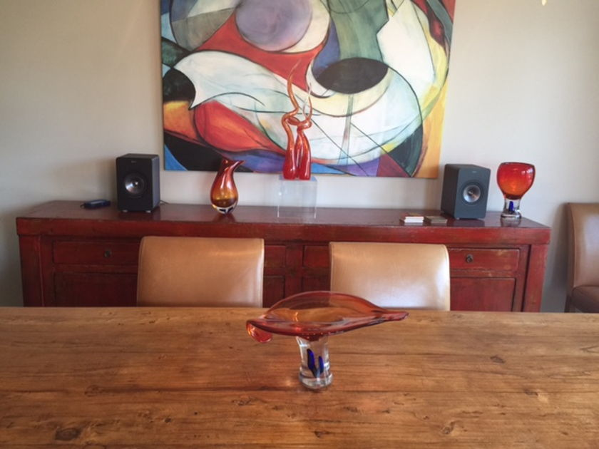 KEF X300A Wireless Powered Speakers with DAC