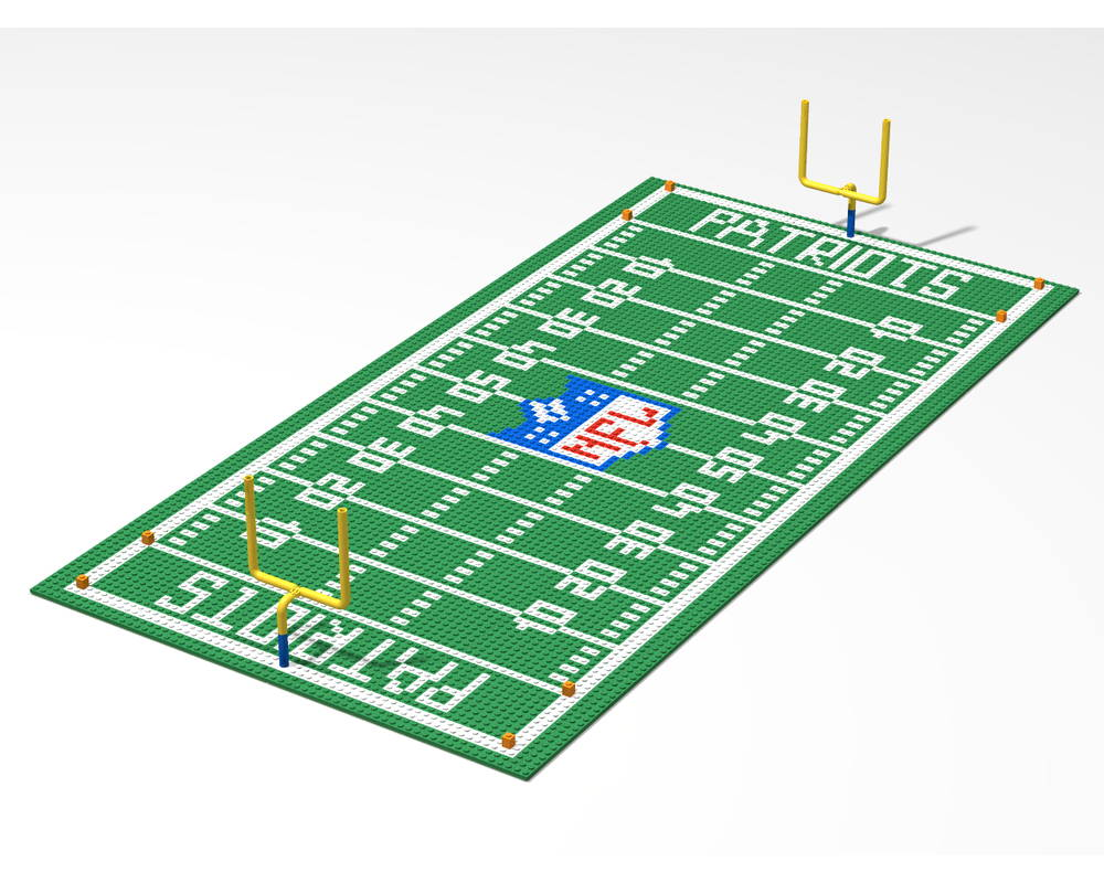 lego football field