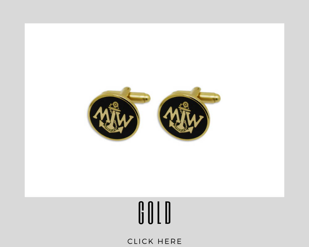 Corporate Custom Gold Cufflinks