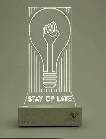 Светильник ночник STAY UP LATE