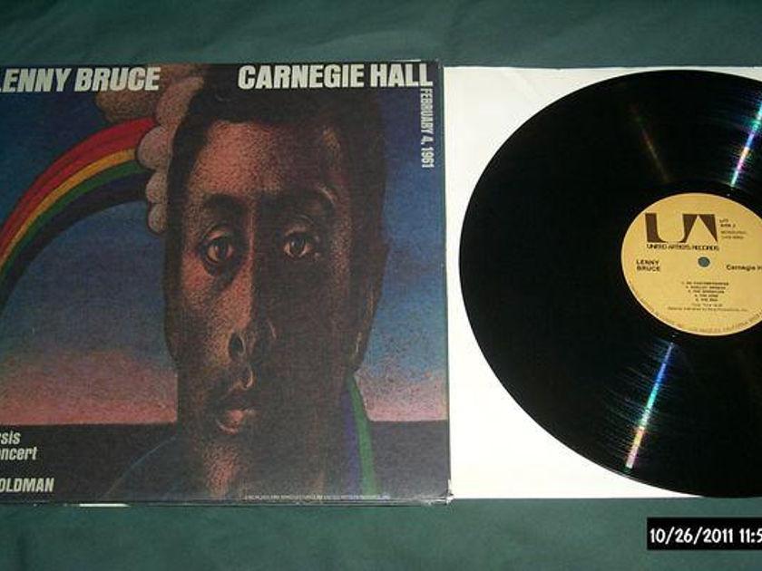 Lenny bruce - Carnegie Hall 3 lp set nm