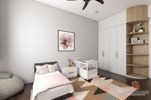 five-by-rizny-sdn-bhd-minimalistic-malaysia-selangor-bedroom-kids-3d-drawing-3d-drawing