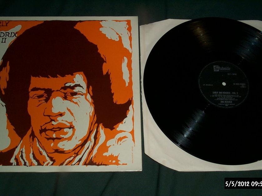 Jimi Hendrix - Early Jimi Hendrix emi uk vol 2 lp nm
