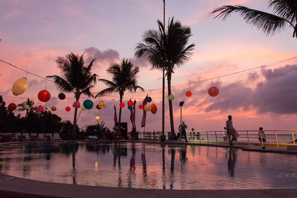 Bali, rest and relax travel destination