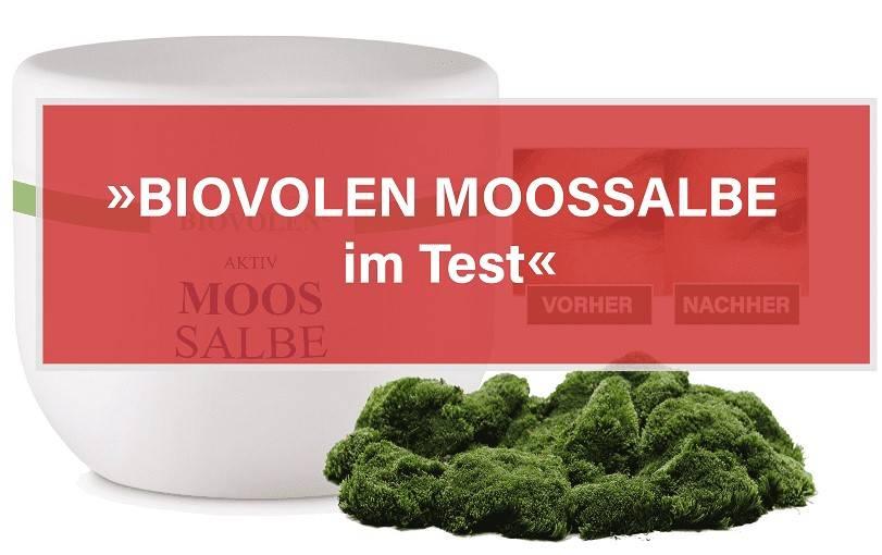 Biovolen Moossalbe Anti -Falten Test